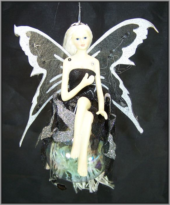 elfe fee auf kugel fairy wundersch ne figur deko zum