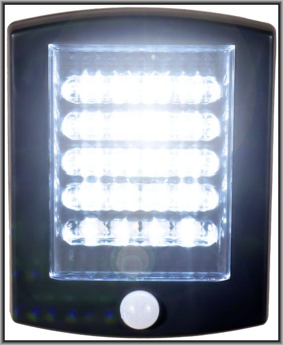 solar led strahler mit bewegungsmelder eingangsbereichen lampe garageneinfahrt ebay. Black Bedroom Furniture Sets. Home Design Ideas