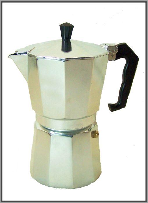cucina de luxe klassischer kaffee espressokocher kaffeekocher neu ovp ebay. Black Bedroom Furniture Sets. Home Design Ideas
