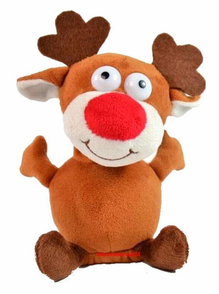 Labertier Laber Rentier Chatter Reindeer Elch Rudi  alles nachplappert Neu OVP