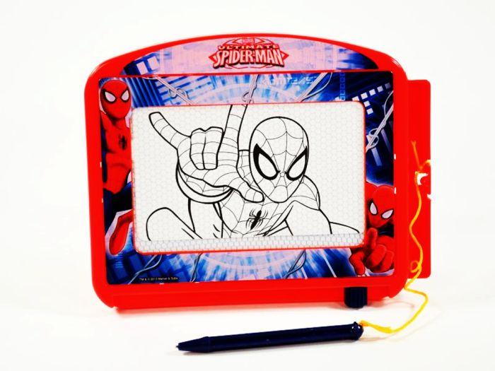 Marvel Ultmate Spider-Man Magische Tafel Zaubertafel Magnet Zauberzeichner OVP