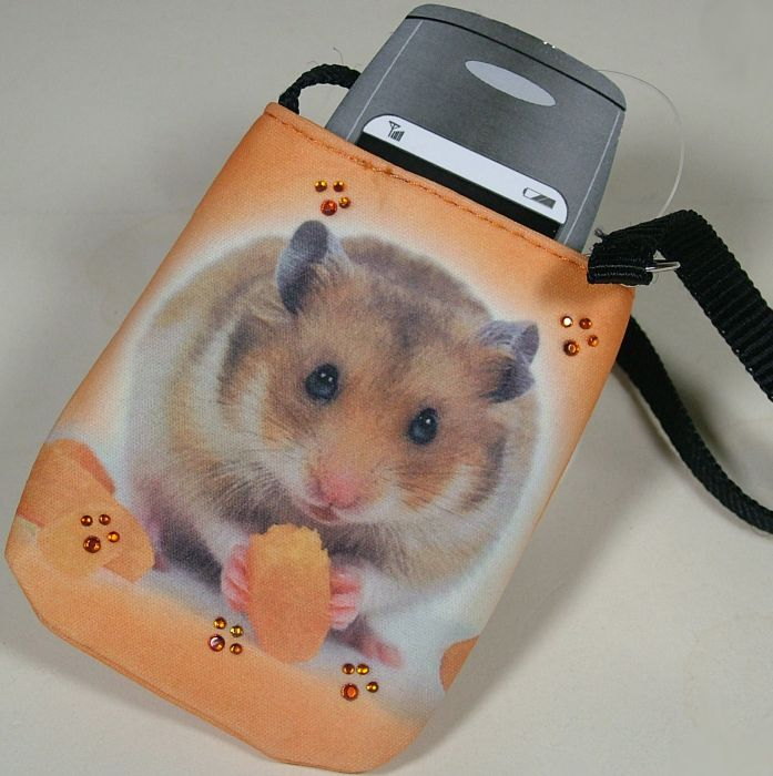 Hamster Handytasche Colorline Handy Tasche Nager Süss Neu